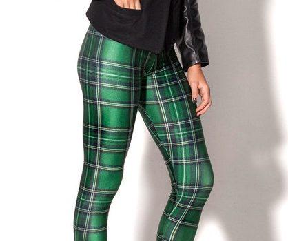 F33081_new_green_plaid_Leggings_printing_breathable_fashion_women_legging_pants$6412_P_1400596363084