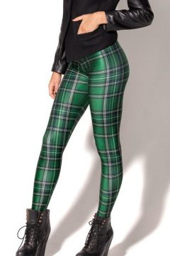 F33081_new_green_plaid_Leggings_printing_breathable_fashion_women_legging_pants$6412_P_1400596363743